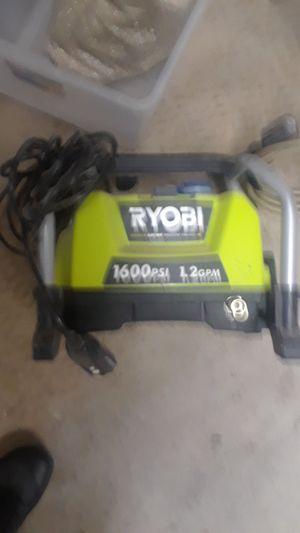 Ryobi 1600 psi 1.2 gpm pressure washer for Sale in Las Vegas, NV