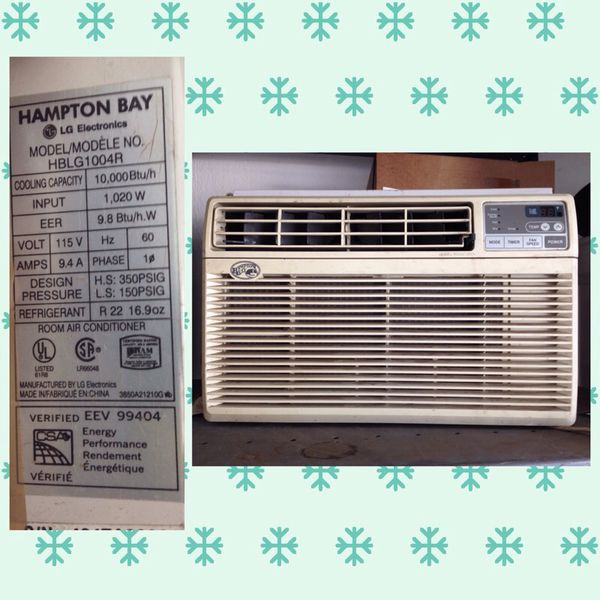 Hampton Bay 10 000btu Window Air Conditioner For Sale In Cerritos Ca Offerup