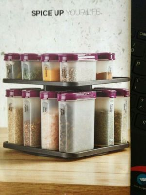 Photo Tupperware Spice Rack