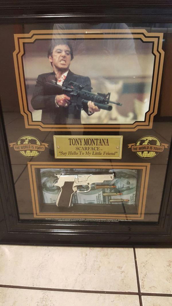Scarface Frame For Sale In Sacramento Ca Offerup