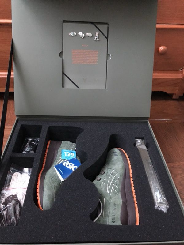 new style 7c1a2 9c408 ASICS Gel-Lyte III Ronnie Fieg Militia (Special Box) - 8.5 for Sale in  Laurel, MD - OfferUp