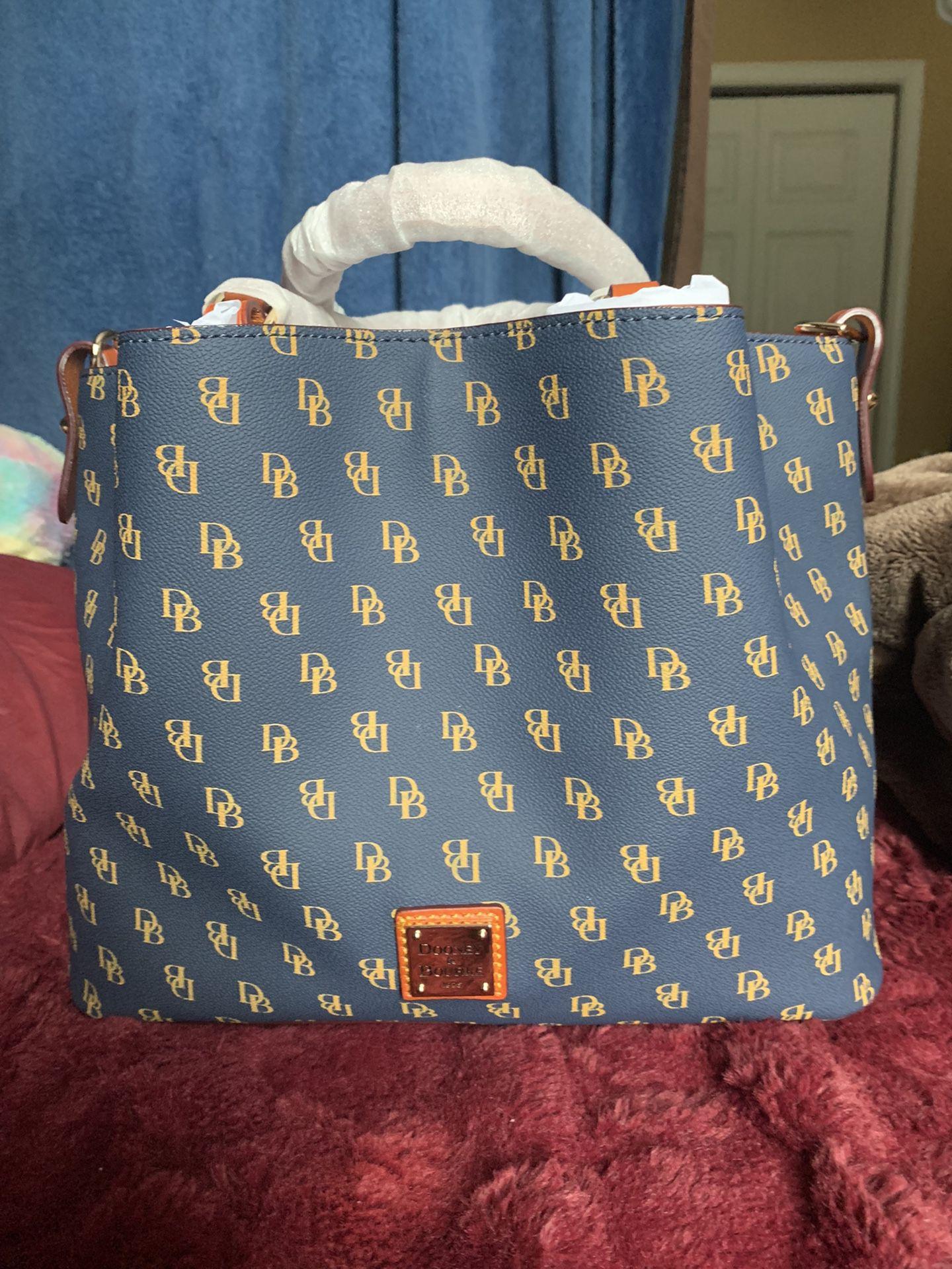 Dooney & Bourke Blue Brenna Handbag