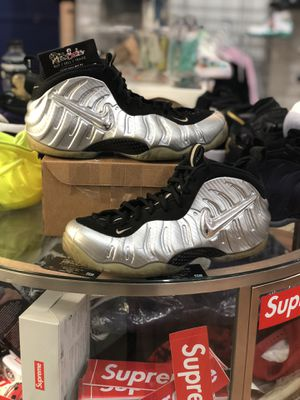 Air Foamposite Pro Sliver Surfer size 13 for Sale in Silver Spring, MD
